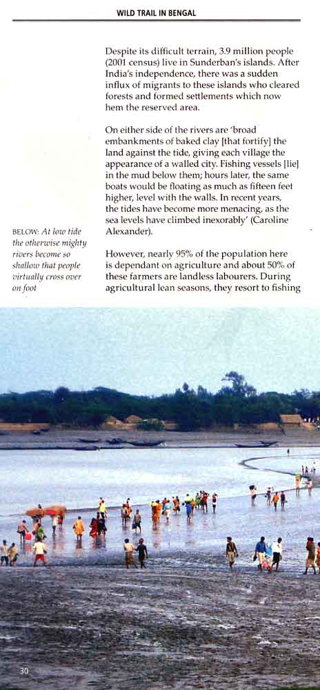 Wild Trail in Bengal 17th page