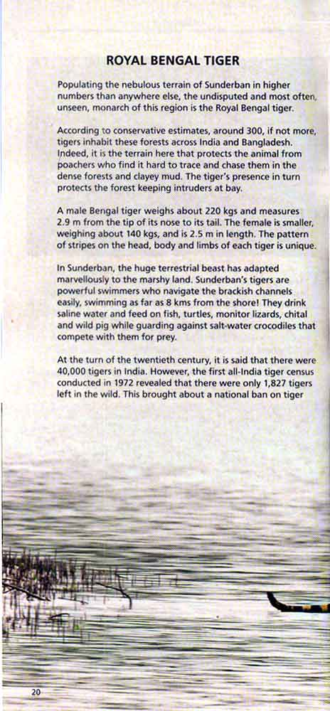Wild Trail in Bengal 7th page